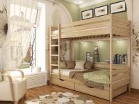 кровать из бука Дуэт-102