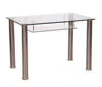 стол обеденный B-231 прозрачные капли