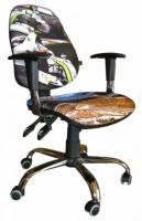 Стул кресло для детей и подростков AMF кресло Бридж Дизайн Гонки-2