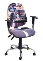 Стул кресло для детей и подростков AMF кресло Бридж Дизайн Гонки-1